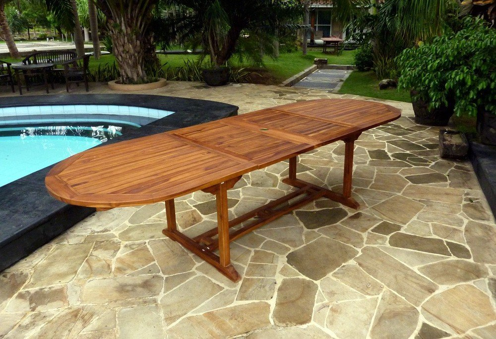 Emejing table de jardin wood en stock contemporary - Salon de jardin hesperide santo pietro ...