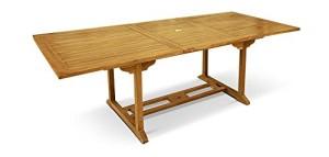 L\'avis unanime sur la table de jardin en Teck grade A de ...
